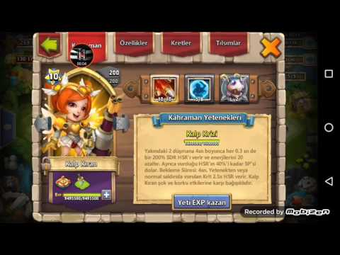 Castle Clash New Hero Heart Breaker -kalp Kiran- Double Ewo 10/10skill Bulwark