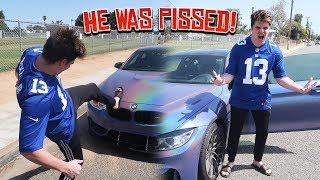 You Can Have My Car Prank on DK 😂 (Unplugged the battery // HE WAS PISSED)