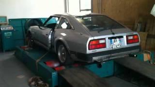 Nissan 280zx dyno test