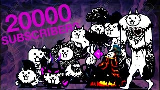 The Battle Cats - All Manic Stages (20k Subscribes Special)