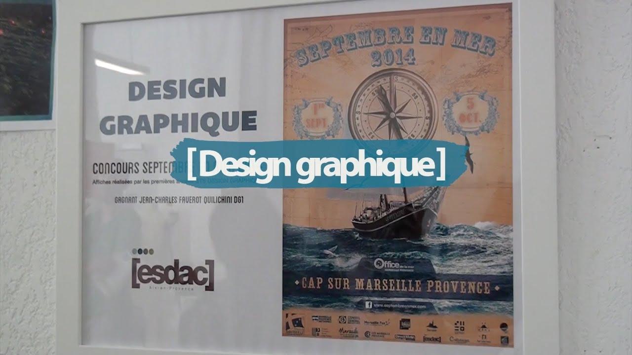 esdac  bts design graphique