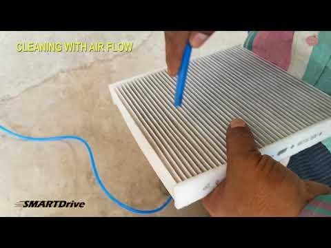 Suzuki Ciaz : Clean Air Filter of Air conditioner system DIY : SMARTDrive333