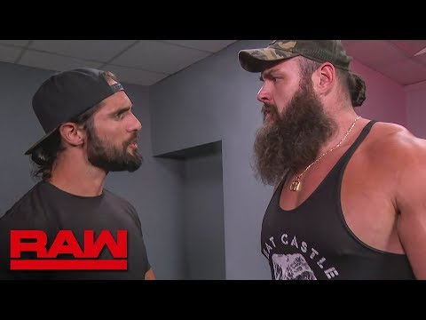 """Braun Strowman upset by """"Stone Cold"""" Steve Austin entering contract negotiations: Raw, Sept. 2, 2019"""
