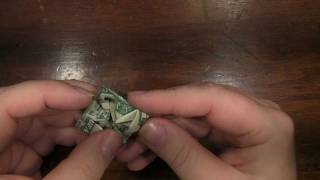 Origami Turtle With A Us Dollar Bill