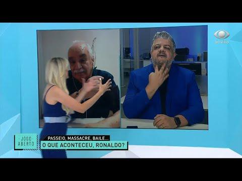 GOLEADA DO VERDÃO SOBRE O TIMÃO GERA DISCUSSÃO NO JOGO ABERTO | JOGO ABERTO