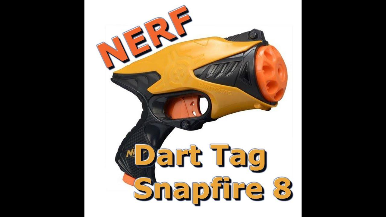 Nerf Dart Tag Snapfire 8   Nerf Gun Attachments