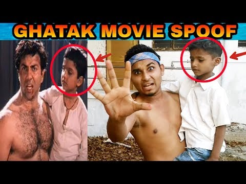 Ghatak Movie Spoof | Sunny deol | Deni | Best Action dialogue | Anjum wasnik |