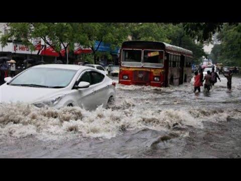 Mumbai heavy rain | Khar Santacruz subway road | road block | heavy traffic 29/08/2017