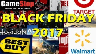 Black Friday 2017: Gamestop, Best Buy, Target, and Walmart