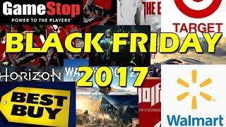 Black Friday 2017: Gamestop, Best Buy, Target, And Walmart