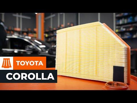 Comment Remplacer Des Filtre 224 Air Sur Une Toyota Corolla Verso 2 Tutoriel Autodoc Youtube