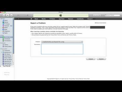 How To: Refunds In iTunes