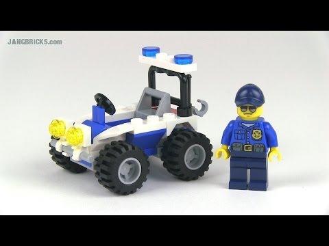 LEGO City Police ATV 30228 polybag set review! - YouTube