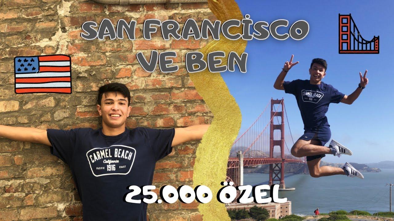 25.000 Bin Abone Özel San Francisco Turu | Amerikadaki Turk