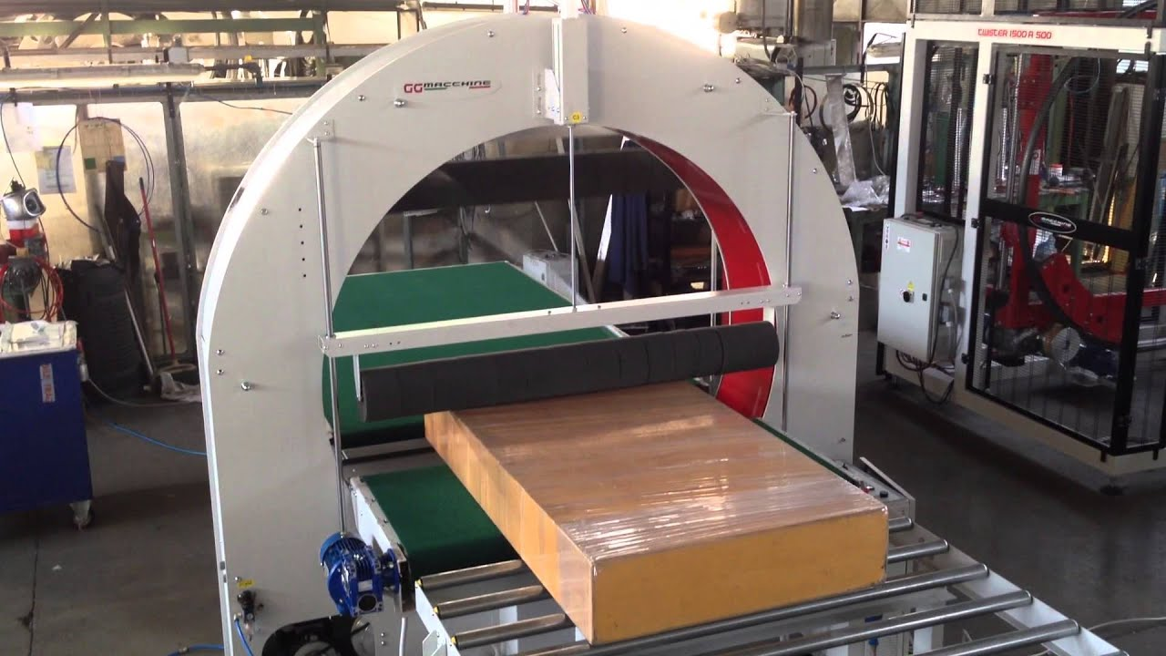 Horizontal Stretch Wrapping Machines At 1600 A 250 Gg