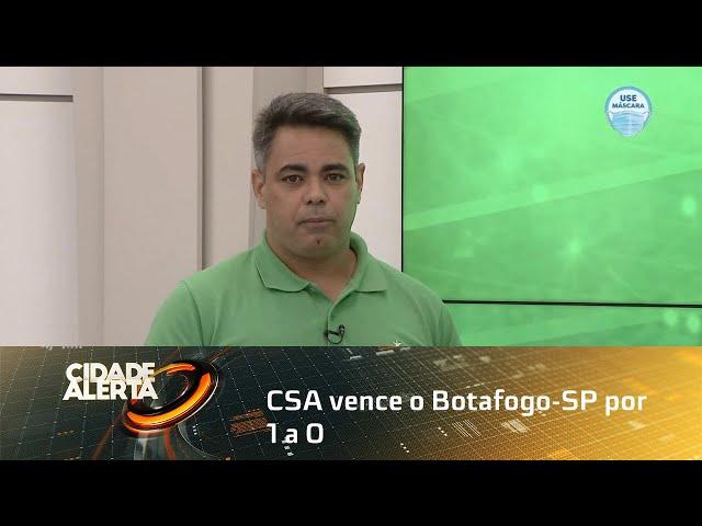 Futebol: CSA vence o Botafogo-SP por 1 a 0