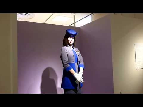 Actroid the robotic receptionist at Life and Robot exhibition [RAW VIDEO]