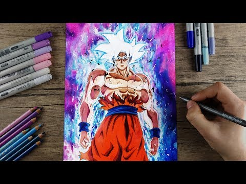 Drawing Goku MASTERED ULTRA INSTINCT | Final Form