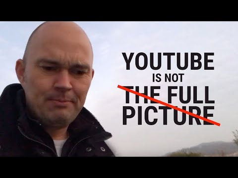 What you see on YouTube is NOT the full picture