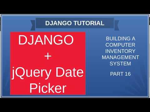 DJANGO – 16 ADDING JQUERY TO DJANGO thumbnail