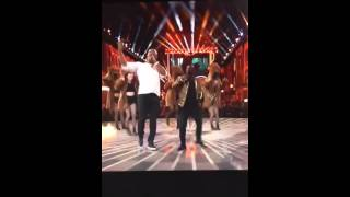 2016 Movie Awards - Kevin Hart and The Rock Rap Song