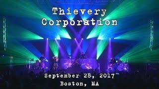 Thievery Corporation 2017 09 28 House of Blues Boston MA 4K