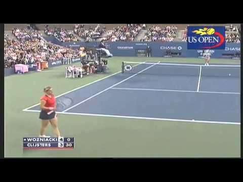 [HL] Kim Clijsters v. Caroline Wozniacki 2009 US Open [F]