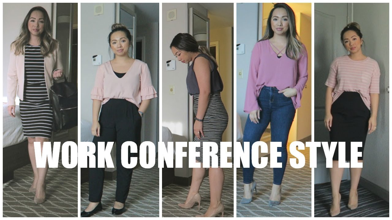 Outfits For Work Business Conference Casual Workwear Style