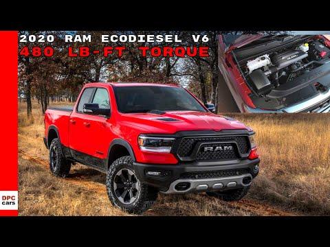 2020 Ram 1500 Gen 3 EcoDiesel V6