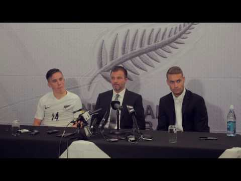 All Whites V Fiji 2-0: Post match press conference with Anthony Hudson Ryan Thomas and Jai Ingham