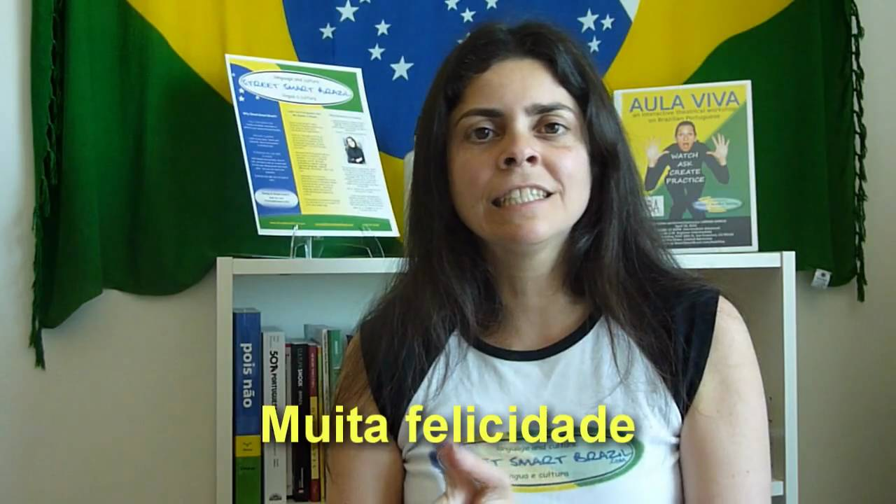 Portuguese Lesson Birthday Vocabulary And The Brazilian Birthday Song Youtube