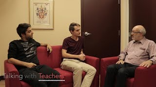 Talking with Teachers: Michael Garmaise - English Teacher