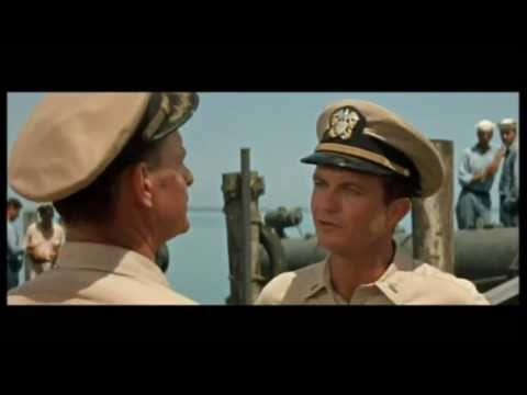 "Cliff Robertson as JFK in ""PT-109"" (1963)"