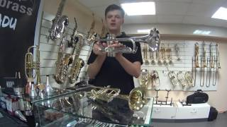 Обзор труб для начинающих Besson, Yamaha, Корнет FF. 2music