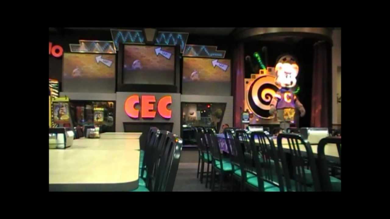 Chuck E Cheese Warrington January 2012 Segment 2 Youtube