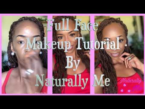 Full Face Makeup Tutorial For A Natural Look thumbnail