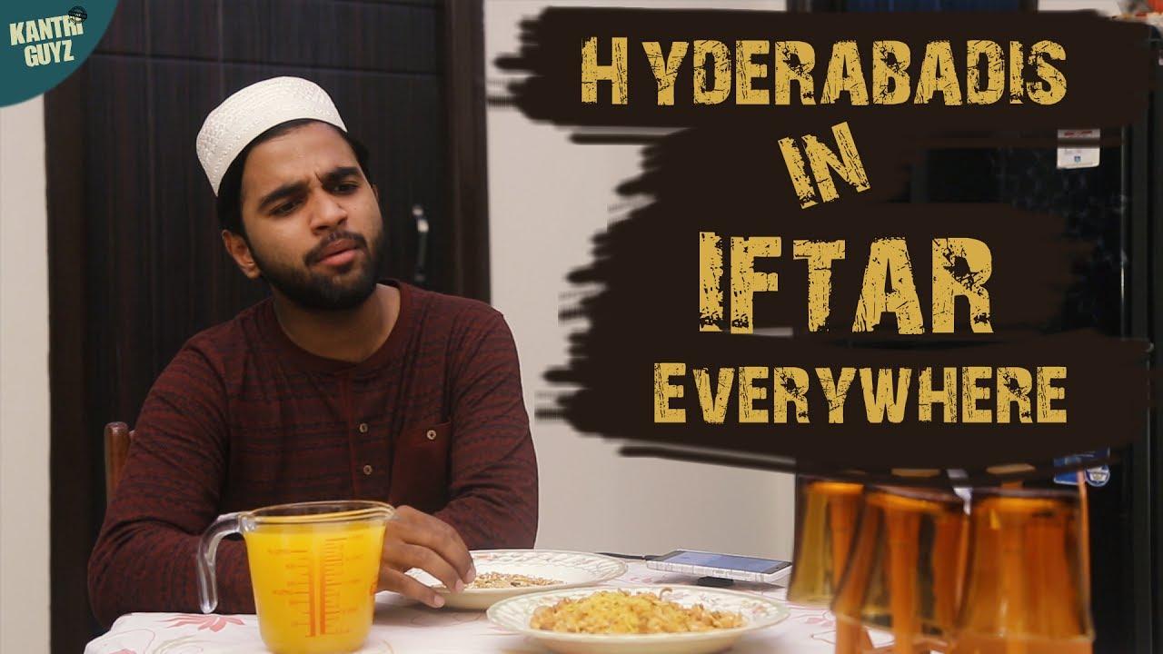Hyderabadis in iftar everywhere hyderabadi comedy kantri guyz