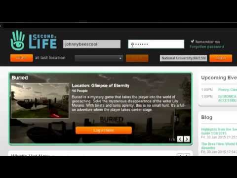 Second Life: How to Get Started in Second Life---Download, Install, Play