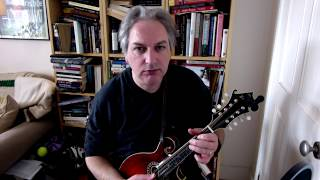The Rolling Waves (jig) on mandolin
