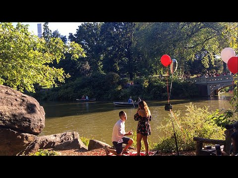 THE MOST ROMANTIC CENTRAL PARK PROPOSAL 2017 NEW YORK | KAREN SALTING AND CALVIN DUMANDAN