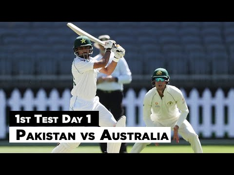Pakistan Vs Australia | 1st Test Day 1 Full Highlights | PCB