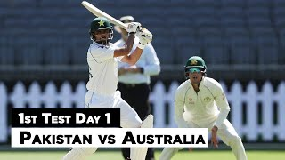 Pakistan vs Australia | 1st Test Day 1 Full Highlights | PCB