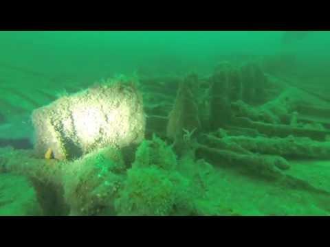 Classic Cork Harbour wreck, Atlantic Divers, July '16