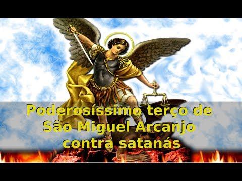 Poderosíssimo terço de São Miguel Arcanjo contra satanás