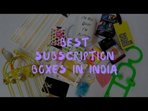 Top 5 Best Subscription boxes in India for women|Beauty and Jewelry subscription boxes|