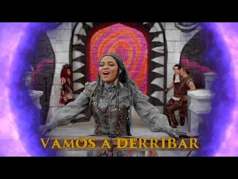 Descendientes 3 | Vamos A Derribar (Break This Down En Español) | Descendants 3