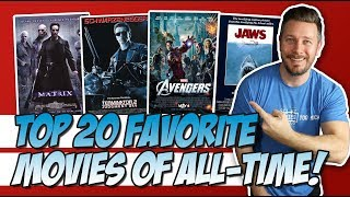 Top 20 Favorite Movies of All-Time!