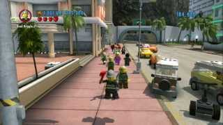 LEGO City Undercover (Wii U) - All Red Bricks/Cheats/Extras Demonstration Guide