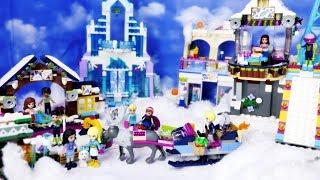 Mikołajki w górach ☃ Lego Friends ☃ Zimowa przygoda Emmy i Stephanie ☃ Bajka po polsku z klockami