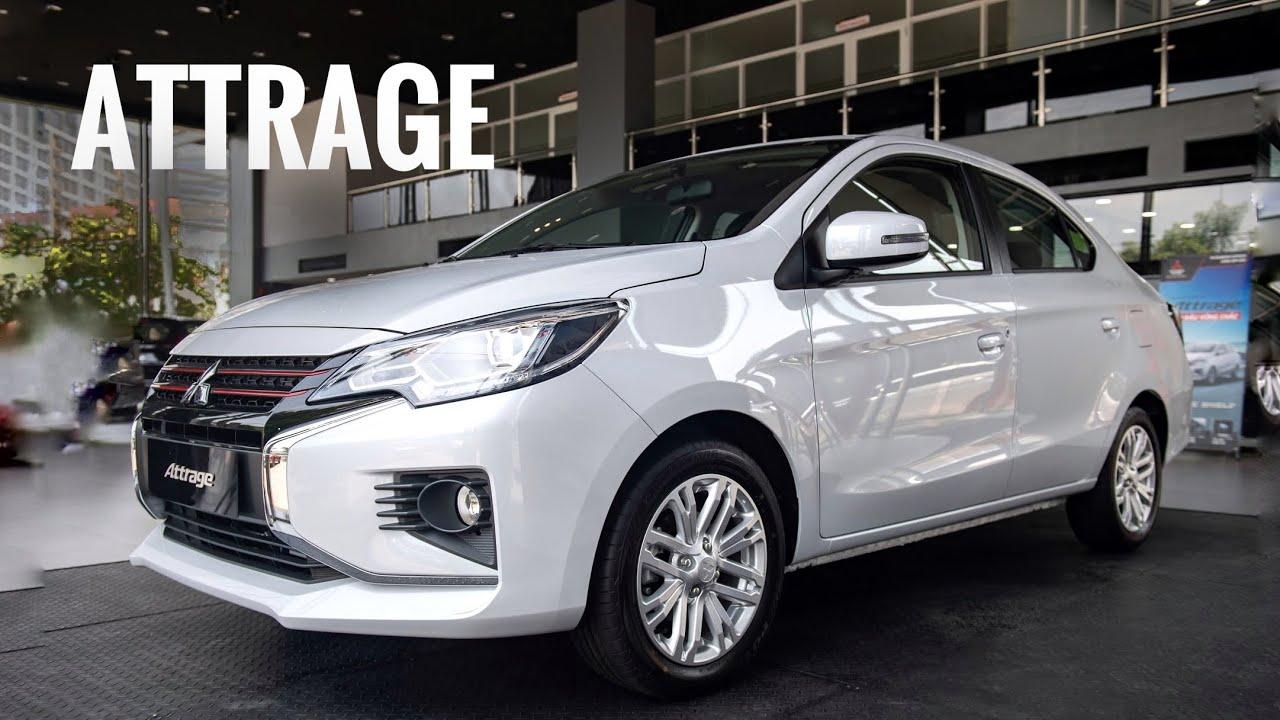 Mitsubishi Attrage 2020 thay đổi đáng kể so với thế hệ trước
